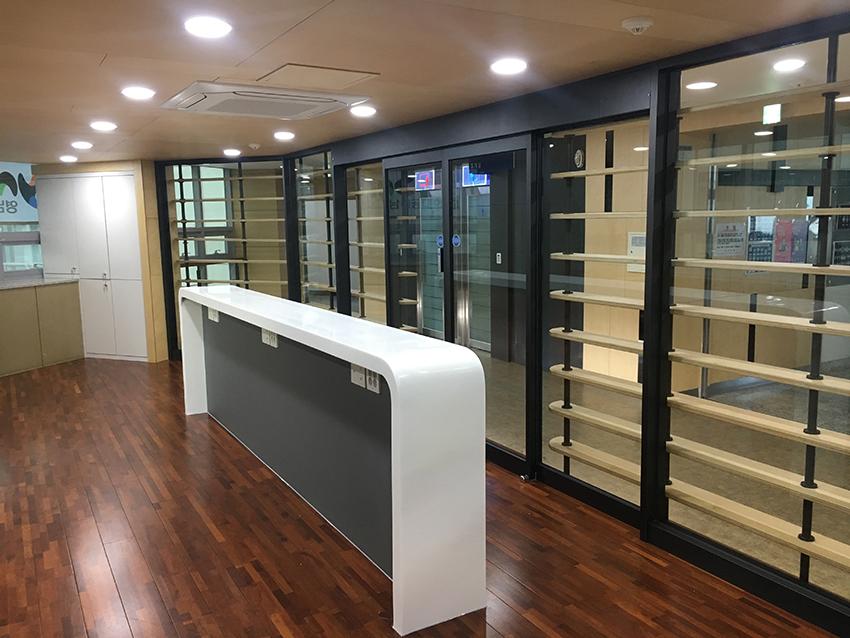 영남이공대 협동관 2층 학과사무실 환경개선공사-대구 인테리어2.JPG